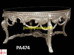 Carved Silver Table
