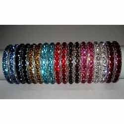 Acrylic Crystal Bangle