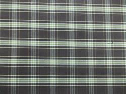 Dark Check Shirting Fabric