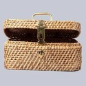 Rectangular Wicker Box