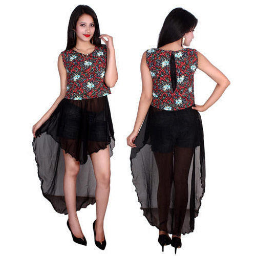 Ladies Designer Mini Dress, Ladies Dresses - Balika Creation ...