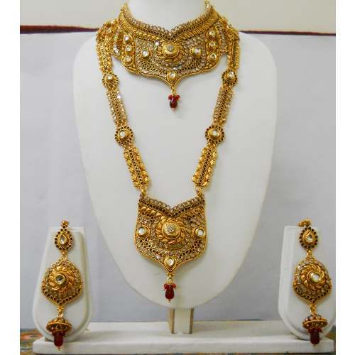 bridal jewellery gold designs necklace