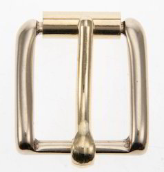 Zinc Golden Satin Gold Buckle, Size/Dimension: 40 Mm