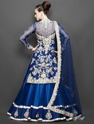Guru Fashion Boutique Retailer of Purple Color Suit Lehenga
