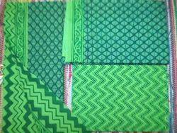 Green Casual Wear Bagru Hand Block Pigment Print Cotton Salwar Suit Set