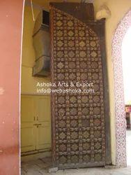 Brass Wood Door
