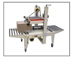 Top & Bottom Belts Driven Carton Sealer Machine