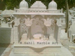 Marble Art Home Mandir