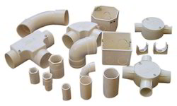 Plastic PVC Electrical Fitting