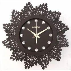 Artistic Brown Wall Clock