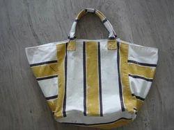 Box Beach Bag Distressed Stripe