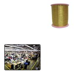 Gold Zari Thread for Clothing Industry