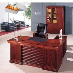 wooden office table. wooden office table