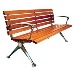 5 Ft Long Wooden Mall Bench Rs 19500 Number Saflow Products