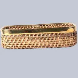 Rectangular Cane Bread Basket