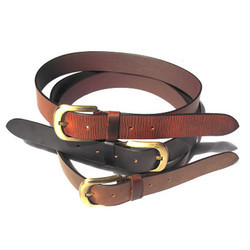 Oil Pull Up Thick Leather Belts