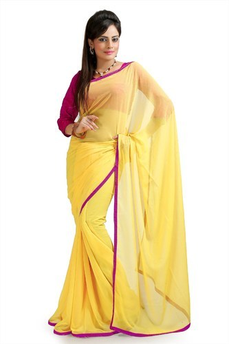 9f4705e7b51af Chiffon Saree - View Specifications   Details of Chiffon Sarees by ...