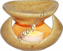 Brahmz Ceramic Aroma Oil Burner Essential Oil Diffuser Candle Holder - 27MD