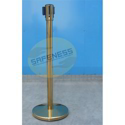 Golden Color Retractable Queue Manager