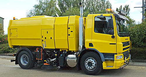 Image result for Road Sweeper Truck