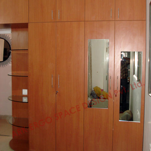 Home Furniture Marandi Wooden Wardrobe