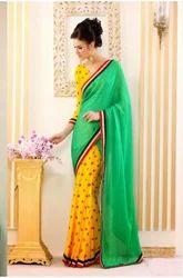Fashion Print Saree