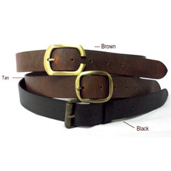 Oil Pull Up F Leather Belts