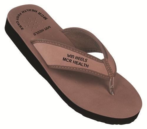 580614ce8a766 Ladies Mcr Chappals - Art 1006 Brown Ladies Slipper Manufacturer ...