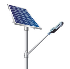 LED Solar Courtyard Lamp
