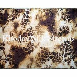 Stylish Printed Silk Fabric