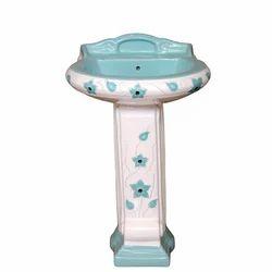 Pedestal Wash Basin Vitrosa