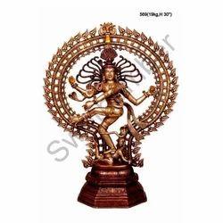 Dancing Nataraja Brass Statues