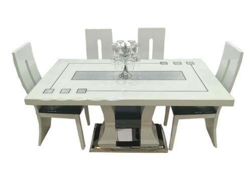 Six Seater Marble Dining Sets Twin Tower 16 Marble Dining Set