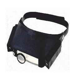 Adjustable Headband Magnifier with Lighting