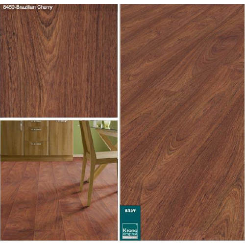 Brazilian Cherry Laminated Wooden Flooring Laminate Hardwood