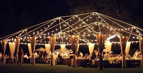 Rainingblossoms Wedding Receptions Tents Decoration: Radhika Tent Services, Panipat