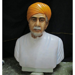 Male Bust Statue