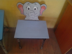 Elephant Wooden Chair