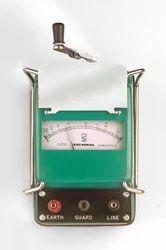 Waco Analog Insulation Tester Metal Body