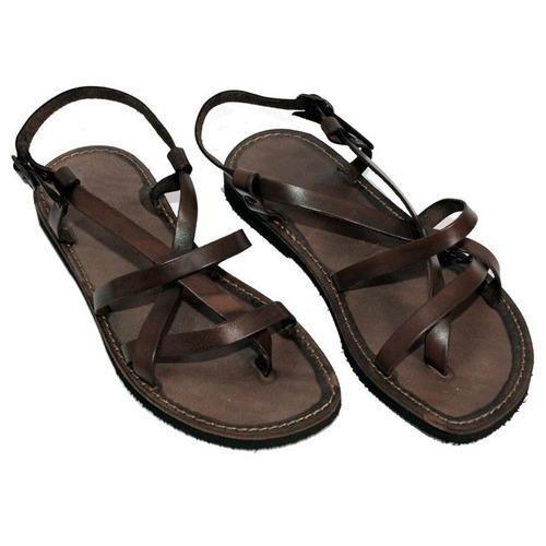 Men Leather Sandal in Agra, पुरुषों के