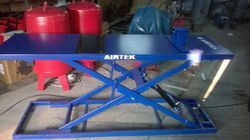 Two Wheeler Lifts Or Ramps - Foot Operated Model