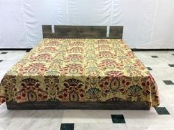 Kantha Mughal Bed Cover