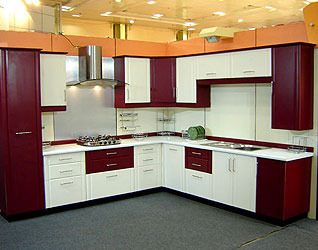 modular kitchen cabinets - Plywood Kitchen Cabinets
