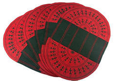 Table Mat (set Of 6) - Red