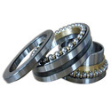 Ball Mild Steel Double Direction Thrust Roller Bearings, For Machinery