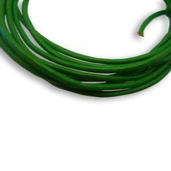Green Round Leather Cord