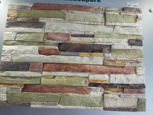 Stone Square Silicone Wall Tiles Mould