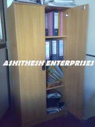ashitesh Wood Office Almirah, Size: Standard, No. Of Shelves: 5 Shelves