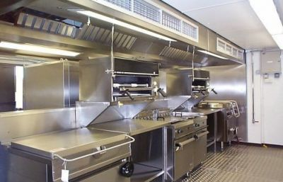 Kitchen Hood Fire Suppression System Radiant Safety Systems New