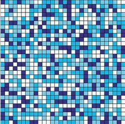 Mosaic Square Tiles, Packaging Type: Box